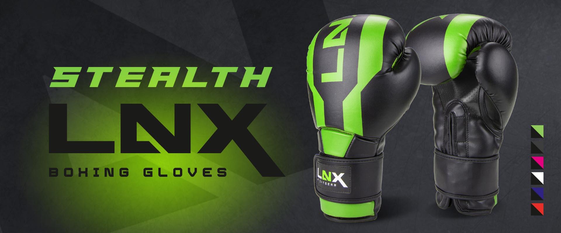 LNX Boxhandschuhe Stealth
